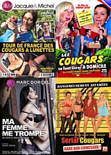 Pack 4 films cougars